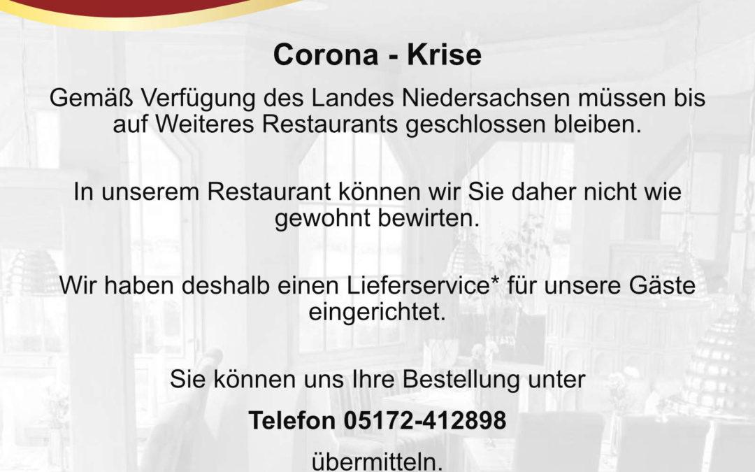 Wir sind auch in Zeiten von Corona für unsere Gäste da!