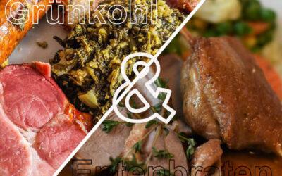 Saison: Entenbraten und Grünkohl